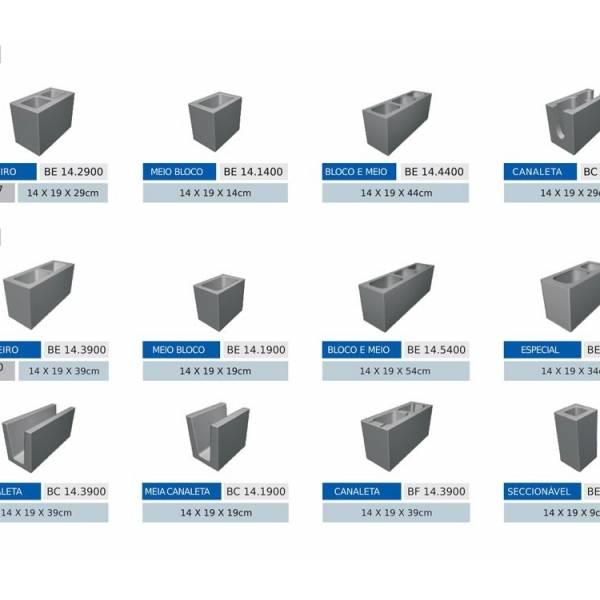 Bloco Feito de Concreto em Hortolândia - Bloco de Concreto Celular Autoclavado