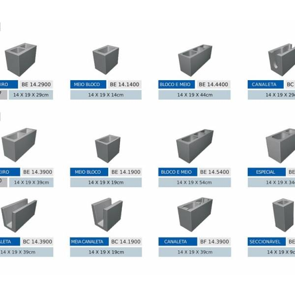 Bloco Feito de Concreto na Cidade Dutra - Blocos de Concreto Preços