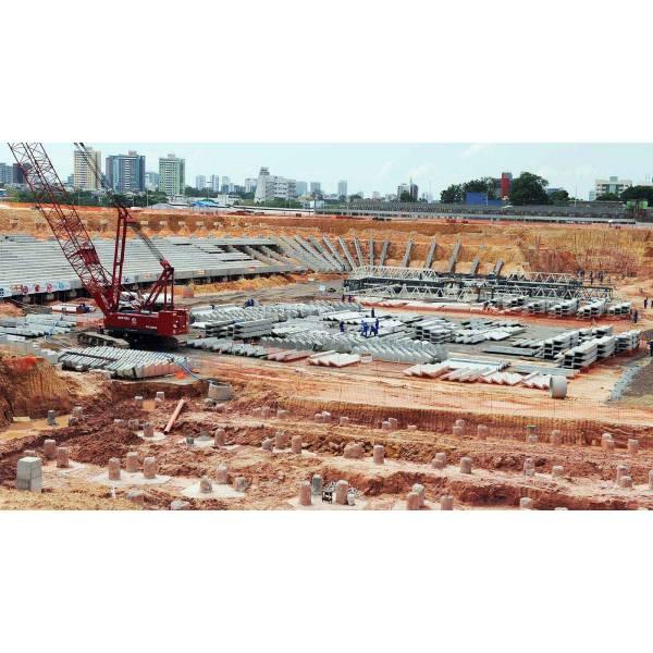 Concreto para Arena na Cidade Dutra - Serviços com Concreto Usinado