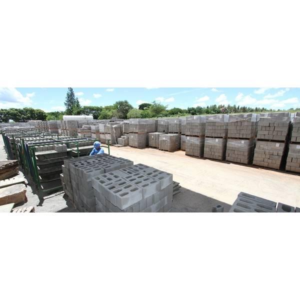 Empresas Ou Fabricação Blocos Feitos de Concreto em Bauru - Bloco de Concreto em Atibaia
