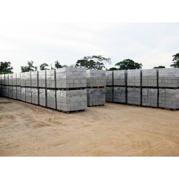 Fabricar Bloco de Concreto em Santos - Tijolo Bloco de Concreto