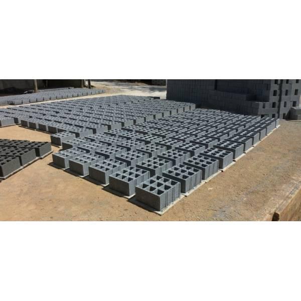 Onde Achar Fabricação de Blocos Feitos de Concreto em Santos - Produção de Blocos de Concreto