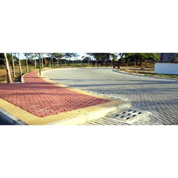 Onde Conseguir Obra de Tijolos Intertravados no Jardim Iguatemi - Bloco Intertravado de Concreto