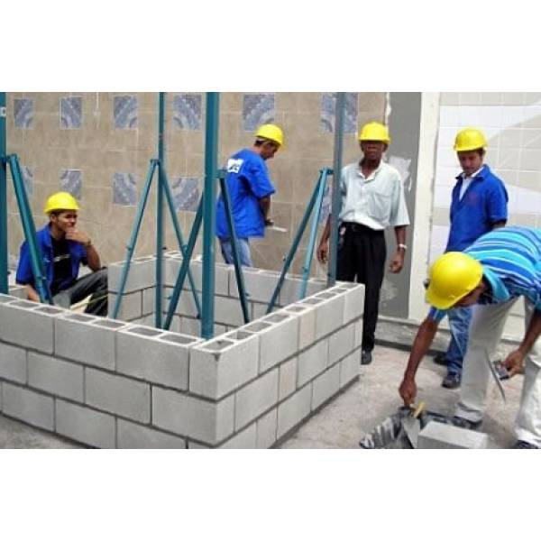 Onde Fabricar Blocos de Concreto na República - Preço do Bloco de Concreto