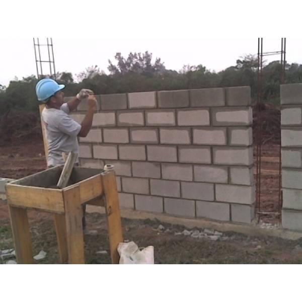 Onde Tem Bloco Estrutural em Rio Claro - Preço do Bloco de Concreto Estrutural