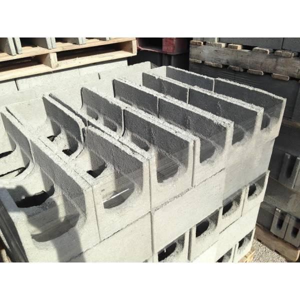 Onde Tem Bloco Feito de Concreto em Bauru - Preço do Bloco de Concreto