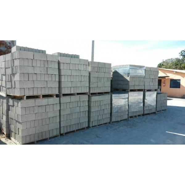 Onde Tem Fabricação de Bloco Feito de Concreto em Santo André - Onde Comprar Blocos de Concreto