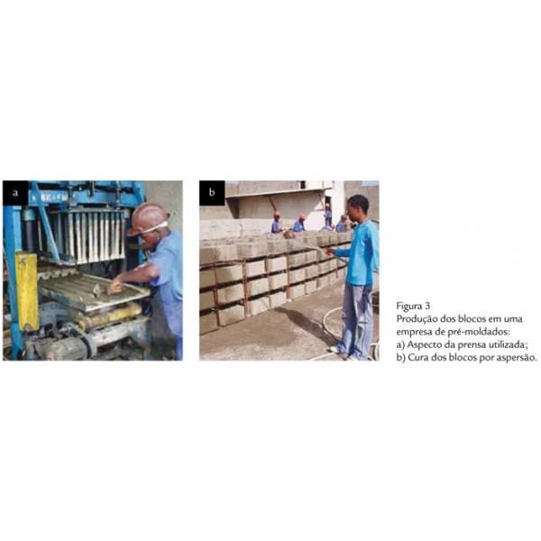 Onde Tem Fabricação de Blocos Feitos de Concreto em Santana de Parnaíba - Bloco Vazado de Concreto