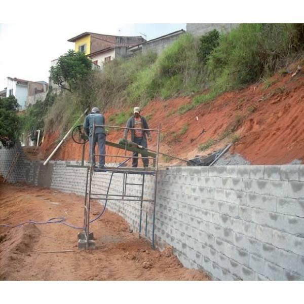 Preço para Fabricar Bloco de Concreto na Pedreira - Bloco de Concreto em Embú Das Artes