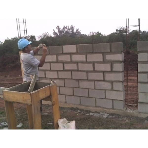 Preço para Fabricar Bloco Feito de Concreto no Mandaqui - Bloco de Concreto em Alphaville