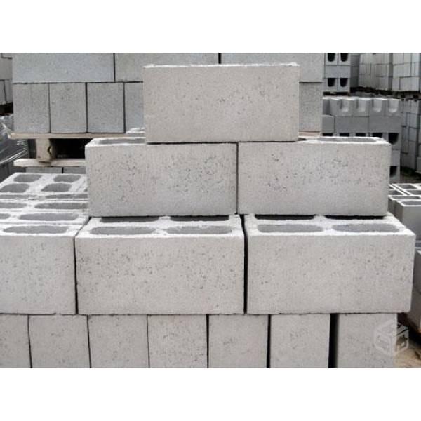 Preços de Fábrica Que Vende Bloco de Concreto no Capão Redondo - Bloco de Concreto Preço Milheiro