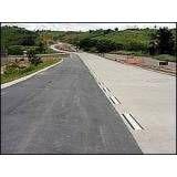 Concreto para ruas em Jacareí