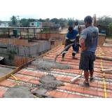Empresa de serviço concretagem  em Higienópolis