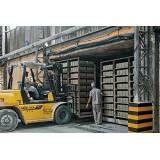 Empresa ou fabricação blocos feitos de concreto na Água Funda