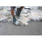 Informações de obras de tijolos intertravados em Cotia