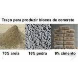 Onde fabricar bloco de concreto em Taubaté