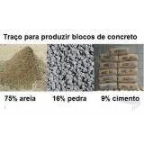 Onde tem bloco de concreto  em Marília
