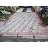 Preço de colocar tijolos intertravados em Marília