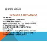 Preço de concreto usinado em Araçatuba