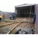 Preço de serviço de concreto usinado em Belém