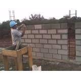 Preço para fabricar bloco feito de concreto em Mendonça