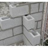 Preços para fabricar blocos feitos de concreto em São Domingos