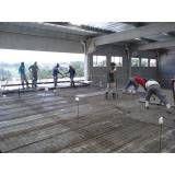 Preparação concreto na Anália Franco