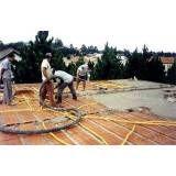 Preparação para concreto no Brás