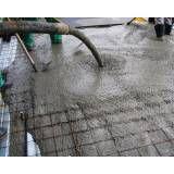 Serviços de concreto de fibra na Vila Prudente