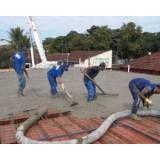 Serviços de concreto usinado no Bairro do Limão
