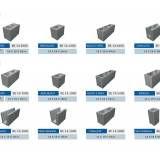 Valor de bloco feito de concreto em Água Rasa