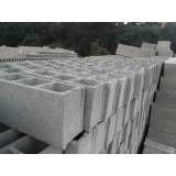 Valor de blocos de concreto  em Santana