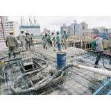 Valor de concretos usinados em Ilha Comprida