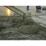 Valor de empresas de concretos de fibras na Ponte Rasa