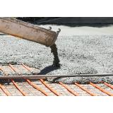 Valor de serviço de concreto usinado em Americana