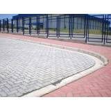 Valor de tijolo intertravado em Cubatão