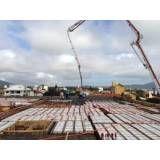 Valores de fábrica de concretos usinados em Água Rasa