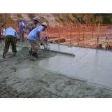 Valores de piso concreto em Rio Claro