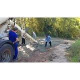 Valores de serviço de concreto usinado no Centro