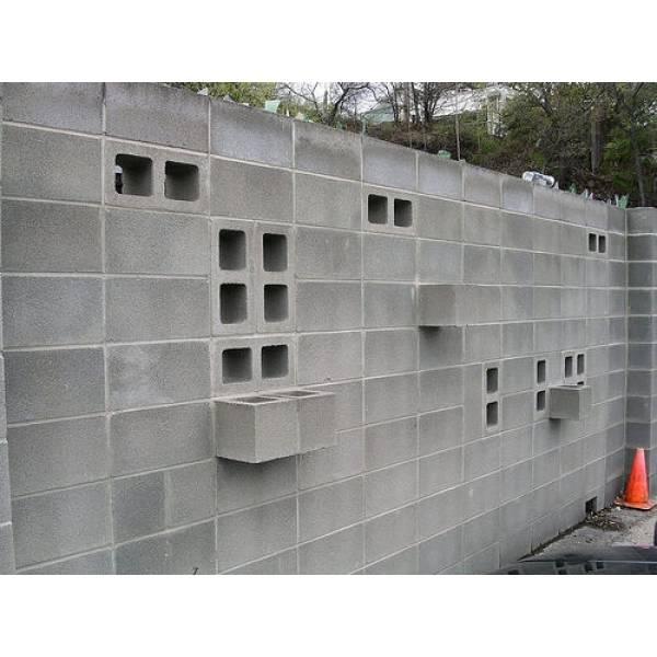 Valor de Fábrica de Bloco de Concreto no Campo Grande - Bloco de Concreto na Louveira
