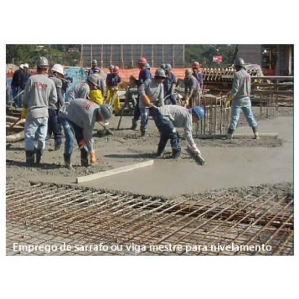 Valor de Serviço de Concreto Usinado na Mooca - Concreto Usinado para Pavimentos